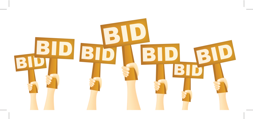 REAL ESTATE BIDDING WAR
